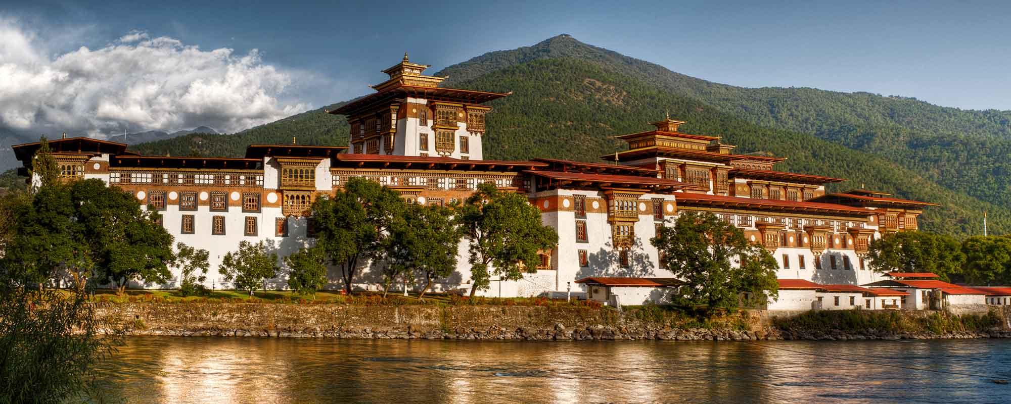 Travel to the land of paradise, Punakha Dzong